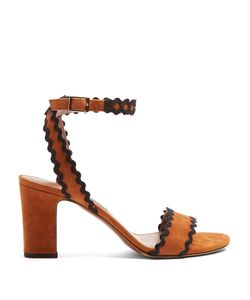 Tabitha Simmons | Leticia Ric-Rac Trimmed Suede Sandals