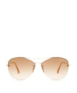 Tom Ford   Margret Aviator Sunglasses