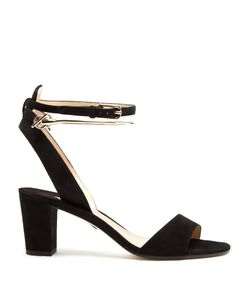 Paul Andrew | Eckland Block-Heel Suede Sandals