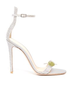 Gianvito Rossi | Martini Crystal-Embellished Satin Sandals