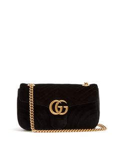 Gucci | Gg Marmont Quilted Cross-Body Bag