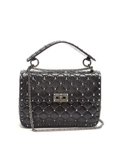 Valentino | Rockstud Spike Medium Quilted Shoulder Bag