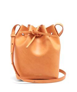 MANSUR GAVRIEL | -Lined Mini Leather Bucket Bag