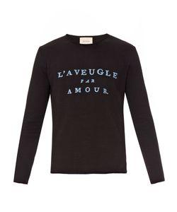 Gucci | Laveugle Par Amour Cotton Sweatshirt