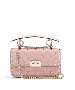 Valentino | Rockstud Spike Small Quilted Shoulder Bag