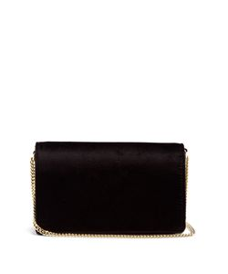 Diane Von Furstenberg | Soiree Velvet Cross-Body Bag