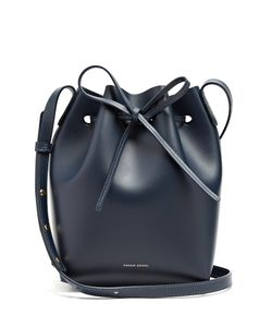 MANSUR GAVRIEL | -Lined Mini Leather Bucket Bag