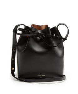 MANSUR GAVRIEL | Nude-Lined Mini Mini Leather Bucket Bag
