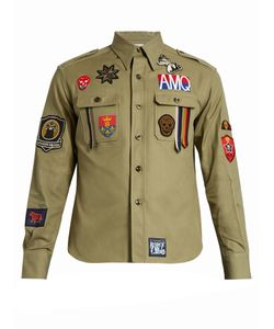 Alexander McQueen | Badge-Appliqué Shirt