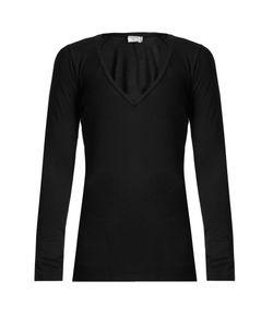 Frame | Cotton-Jersey Long-Sleeved T-Shirt
