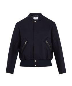 OAMC | Band-Collar Wool-Felt Bomber Jacket