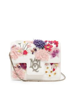 Alexander McQueen | Insignia Embellished Shoulder Bag