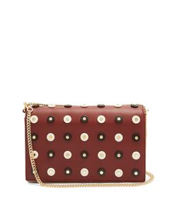 Diane Von Furstenberg | Soirée Embellished Leather Cross-Body Bag