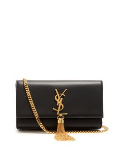 Saint Laurent | Kate Small Velvet Shoulder Bag