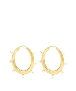 THEODORA WARRE   And Plated Earrings