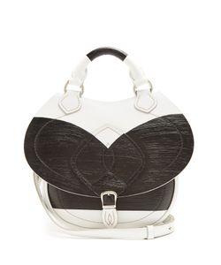 Maison Margiela | Slide Mini Painted-Panel Leather Cross-Body Bag