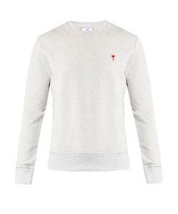 Ami   De Coeur-Embroide Sweatshirt