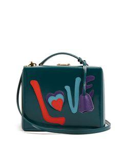 Mark Cross | Grace Love Large Leather Box Bag