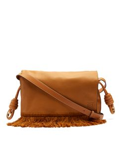 Loewe | Flamenco Grained-Leather Shoulder Bag