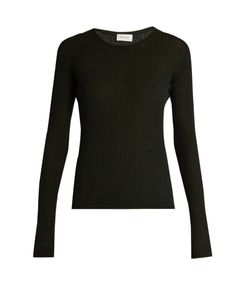 LEMAIRE | Ribbed-Knit Wool Sweater
