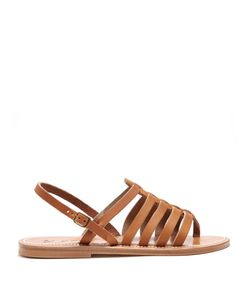 K. Jacques | Homere Leather Sandals