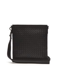 Bottega Veneta | Intrecciato Leather Messenger Bag