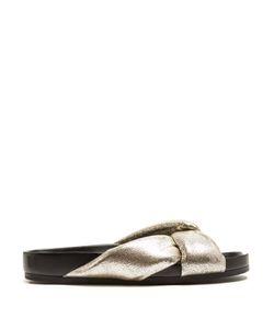 Chloe | Nolan Leather Slides