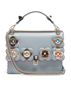 Fendi | Kan I Flower-Embellished Shoulder Bag