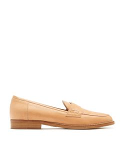 BROTHER VELLIES | Coin-Embellished Leather Penny Loafers