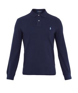 Polo Ralph Lauren | Long-Sleeved Cotton-Piqué Polo Shirt