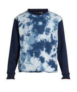 LONGJOURNEY | Nash Tie-Dye Print Cotton Sweatshirt