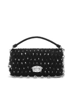 Miu Miu | Swallow-Print Shoulder Bag