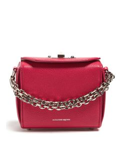 Alexander McQueen | Box 16 Mini Grained Shoulder Bag
