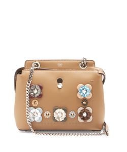 Fendi | Dotcom Mini Flowerland-Embellished Bag