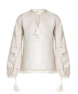 TALITHA | Marina Cutwork-Lace Cotton Blouse