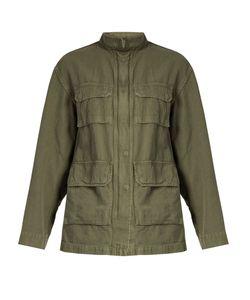 Nili Lotan | Lori Cotton And Linen-Blend Twill Jacket