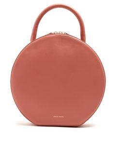 MANSUR GAVRIEL | Circle Leather Top-Handle Bag