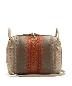 Bottega Veneta | Nodini Small Embroidered Cross-Body Bag