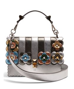Fendi | Kan I Flower-Appliqué Shoulder Bag