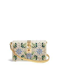 Dolce & Gabbana | Crystal-Embellished Box Clutch