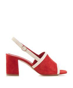 MANSUR GAVRIEL | Bi-Colour Suede Block-Heel Sandals