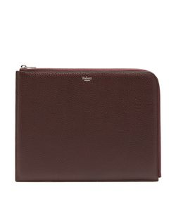Mulberry | Tech Medium Grained-Leather Pouch