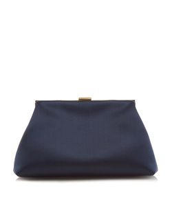 MANSUR GAVRIEL | Mini Volume Silk-Satin Clutch