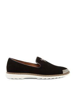 Giuseppe Zanotti Design   Cedric Brushed-Leather Loafers