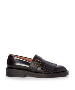 Marni | Fringed Leather Loafers