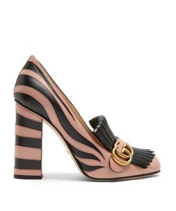Gucci | Marmont Fringed Leather Pumps
