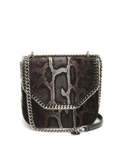 Stella Mccartney | Falabella Box Mini Snake-Print Cross-Body Bag