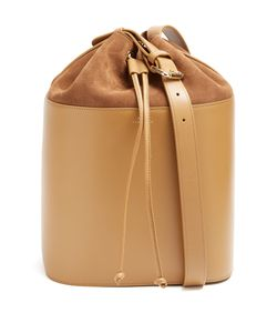 A.P.C. | Claire Leather And Suede Bucket Bag