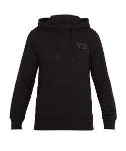 Y-3 | Logo-Print Cotton Hooded Sweatshirt