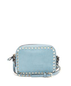 Valentino | Rockstud Camera Suede Cross-Body Bag